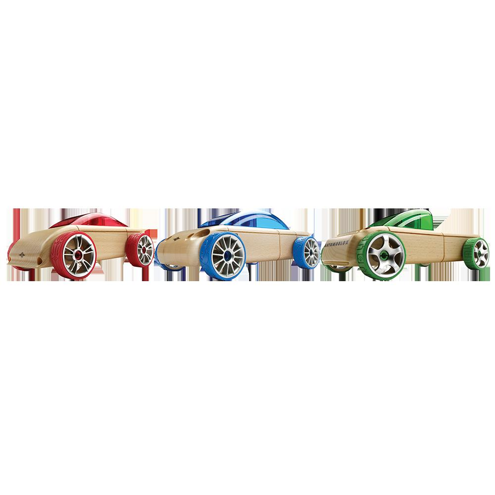 AUTOMOBLOX - S9, C9, T9 - 3 PACK