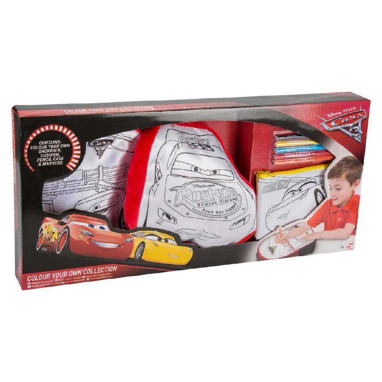 CARS 3 PACK COLOUR YOUR OWN CO