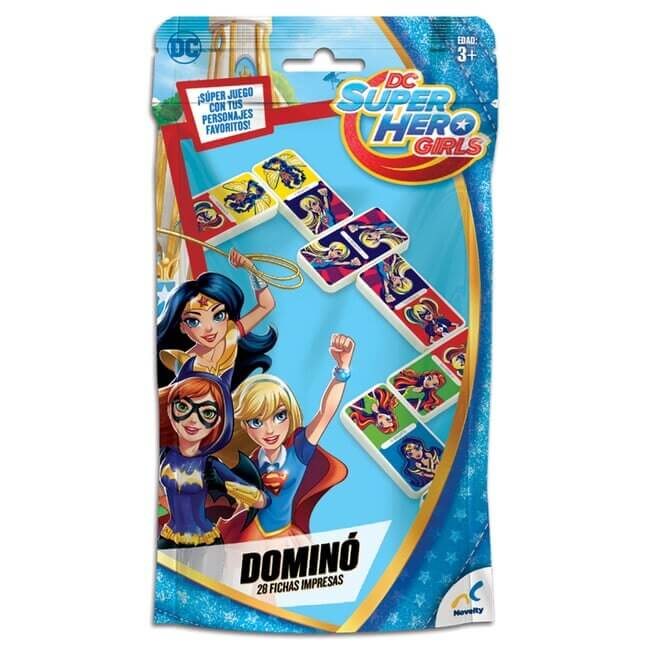 DOMINO BOLSA FOIL SUPER HERO GIRLS