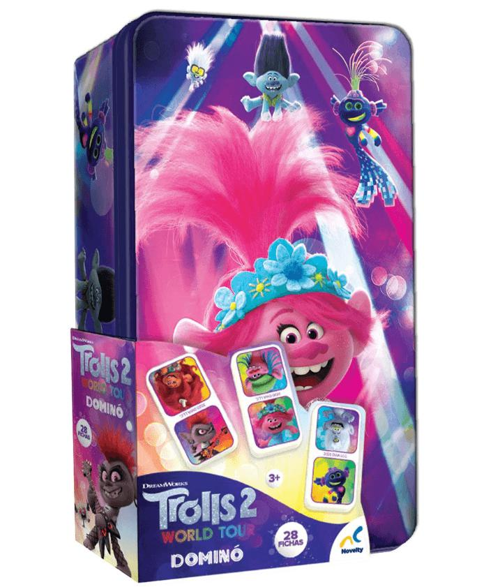 DOMINO EN TIN TROLLS WORLD TOUR