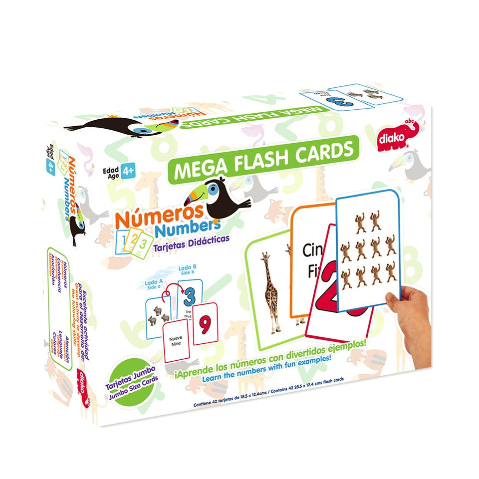 FLASH CARDS NUMEROS