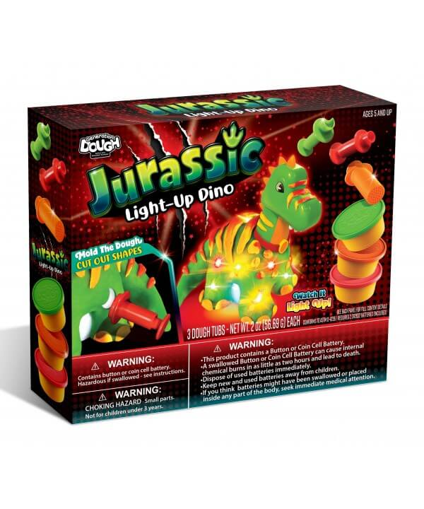 JURASSIC LIGHT-UP DINO KIT