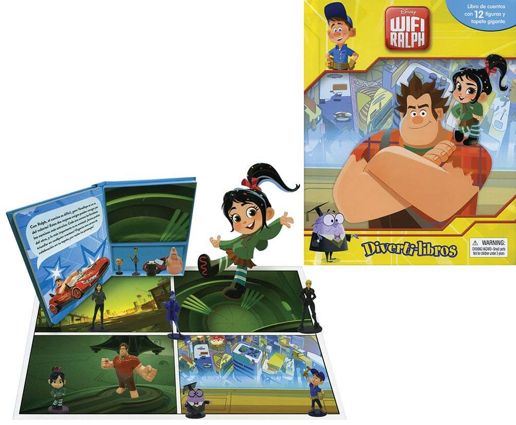 LIBRO DIVERTILIBROS DISNEY WIFI RALPH
