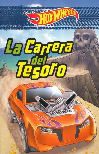 LIBRO HOT WHEELS LA CARRERA DEL TESORO