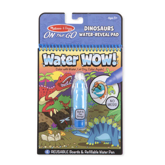 LIBRO WATER WOW - DINOSAURS