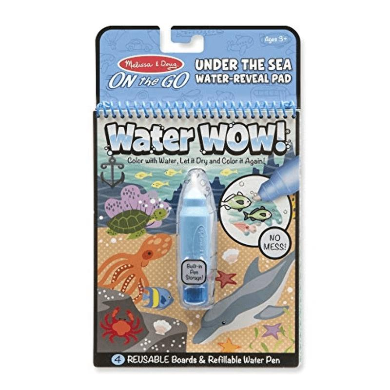 LIBRO WATER WOW - UNDER THE SEA