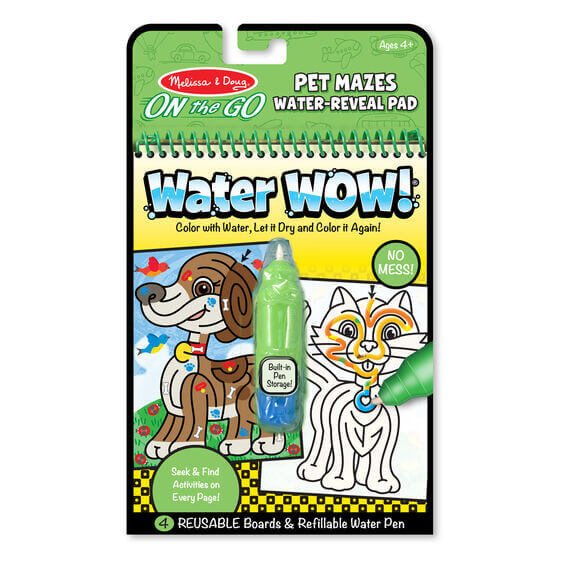 LIBRO WATER WOW PET MAZES