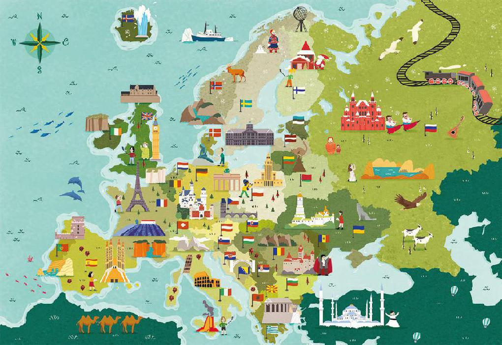 PLACES IN EUROPE