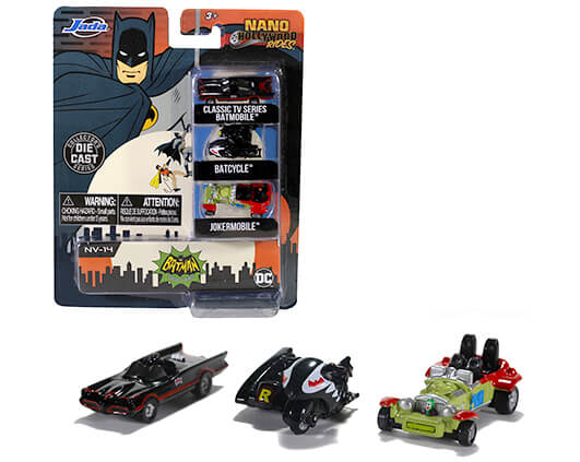 NANO HOLLYWOOD RIDES BATMAN