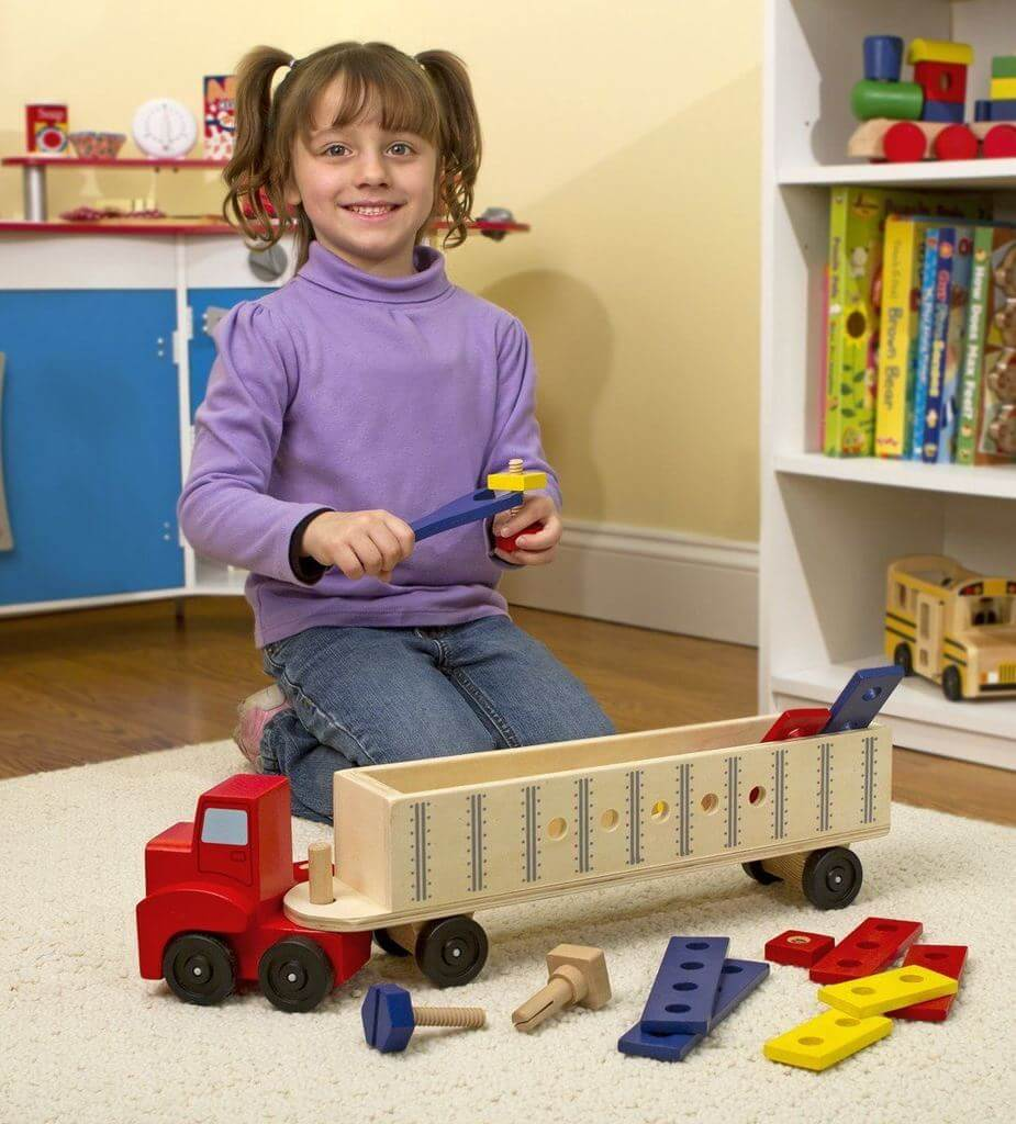 BIG TRUCK BUILDING SET