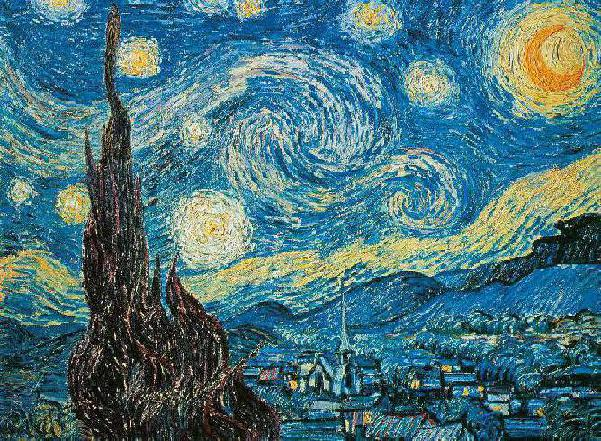 STARRY NIGHT VAN GOGH MUSEUM COLLECTION