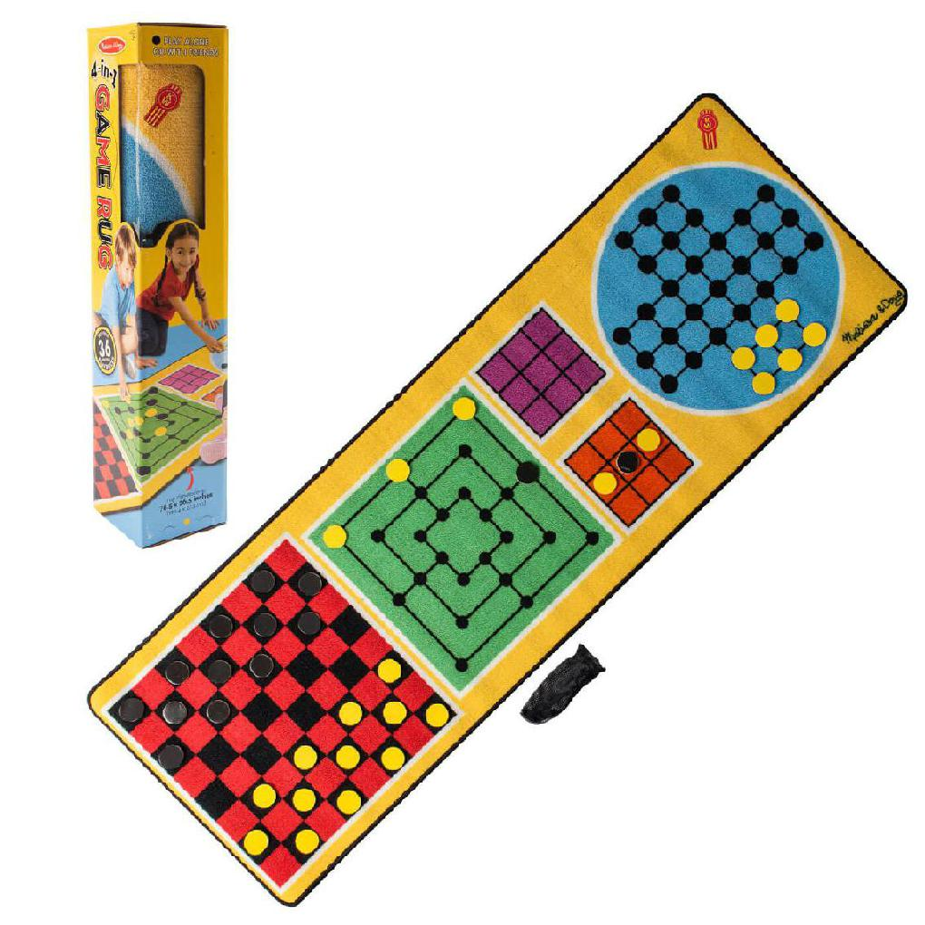 4 IN 1 GAME RUG