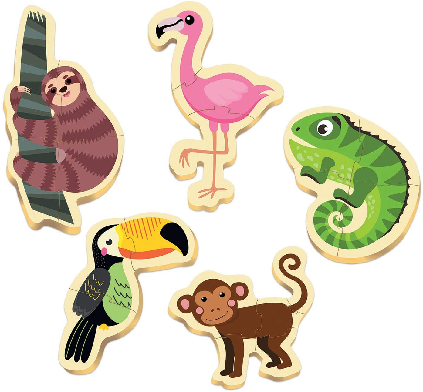 BABY PUZZLES ANIMALES TROPICALES