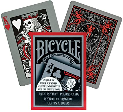 BARAJA POKER BICYCLE TRAGIC ROYALTY