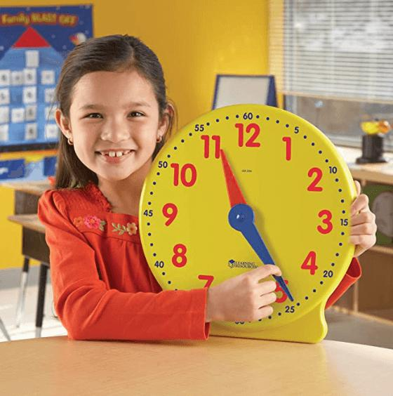 BIG TIME LEARNING CLOCK