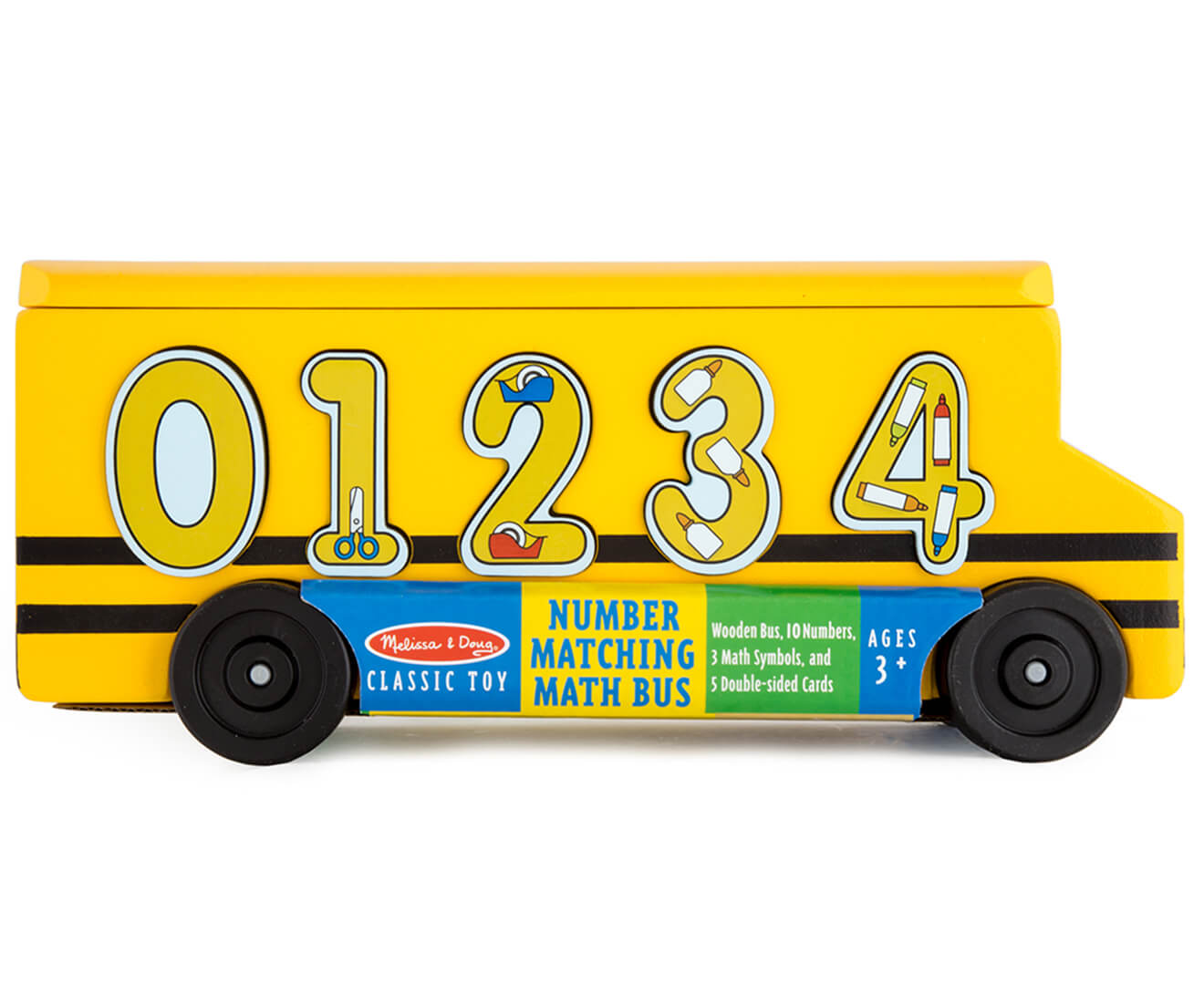 NUMBER MATCHING MATHS BUS
