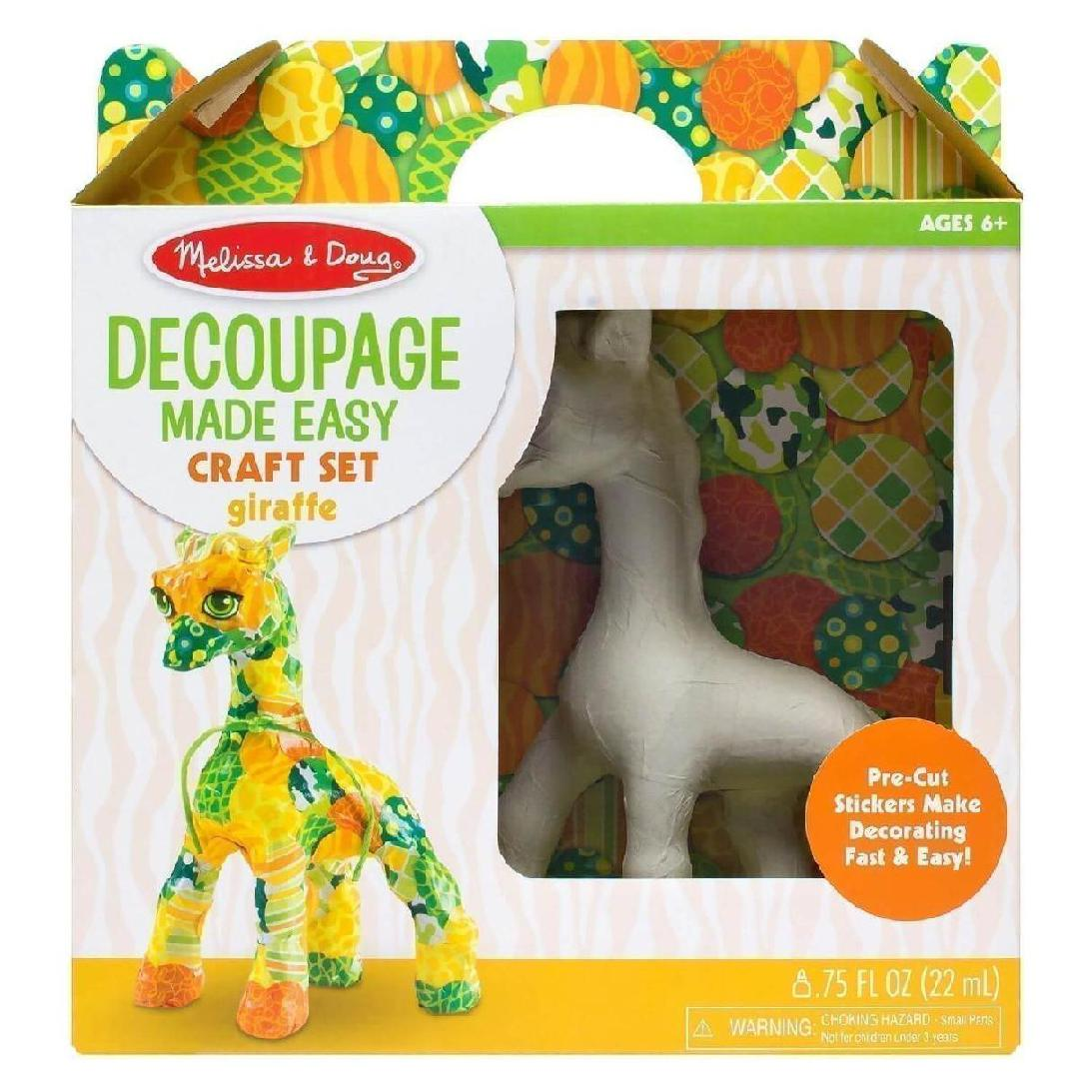 DECOUPAGE MADE EASY - GIRAFFE