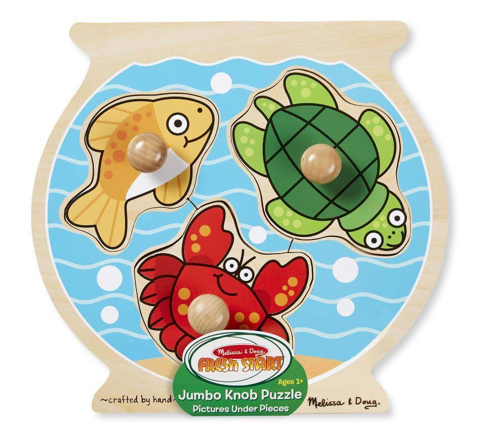 FISH BOWL LARGE PEG PUZZLE