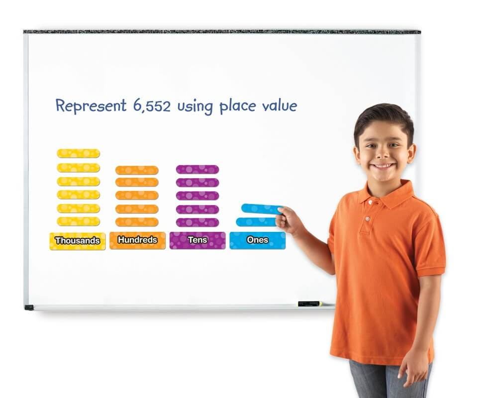 GIANT MAGNETIC PLACE VALUE