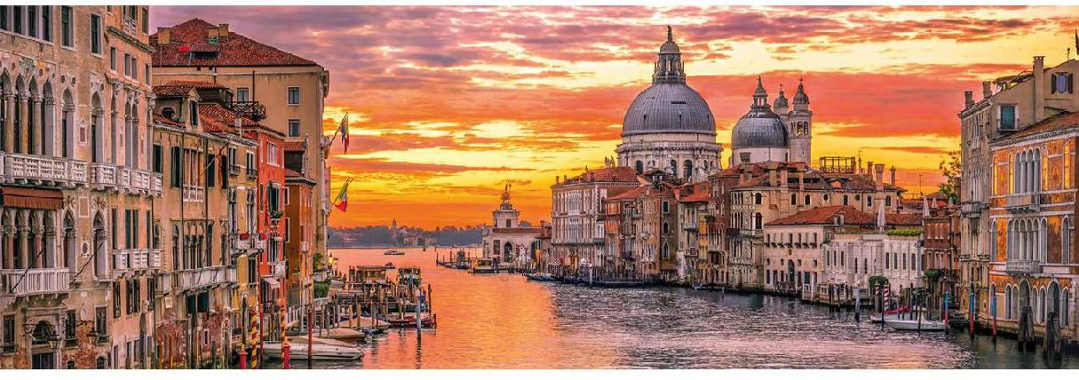 THE GRAND CANAL VENICE PANORAMA