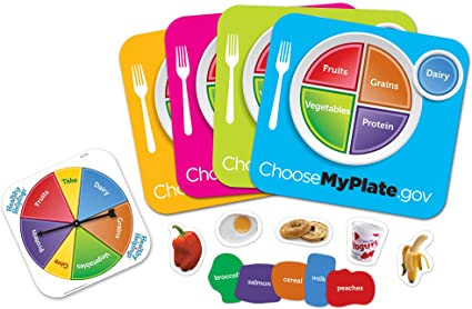 HEALTHY HELPINGS: A MY PLATE GAME