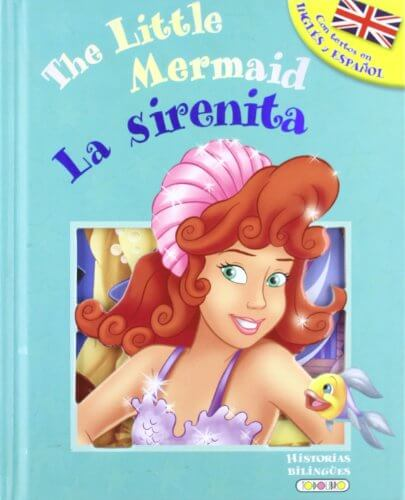 LIBRO LA SIRENITA: THE LITTLE MERMAID