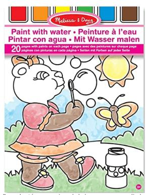 LIBRO PAINT WITH WATER - PINK