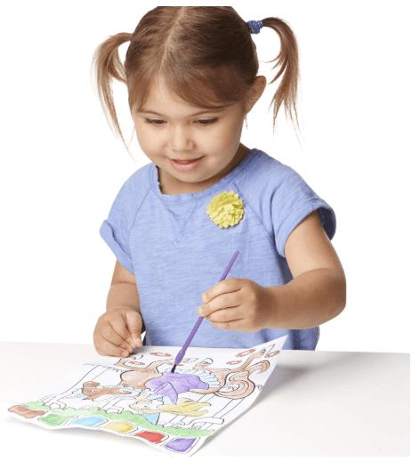 LIBRO PAINT WITH WATER - PRINCESS