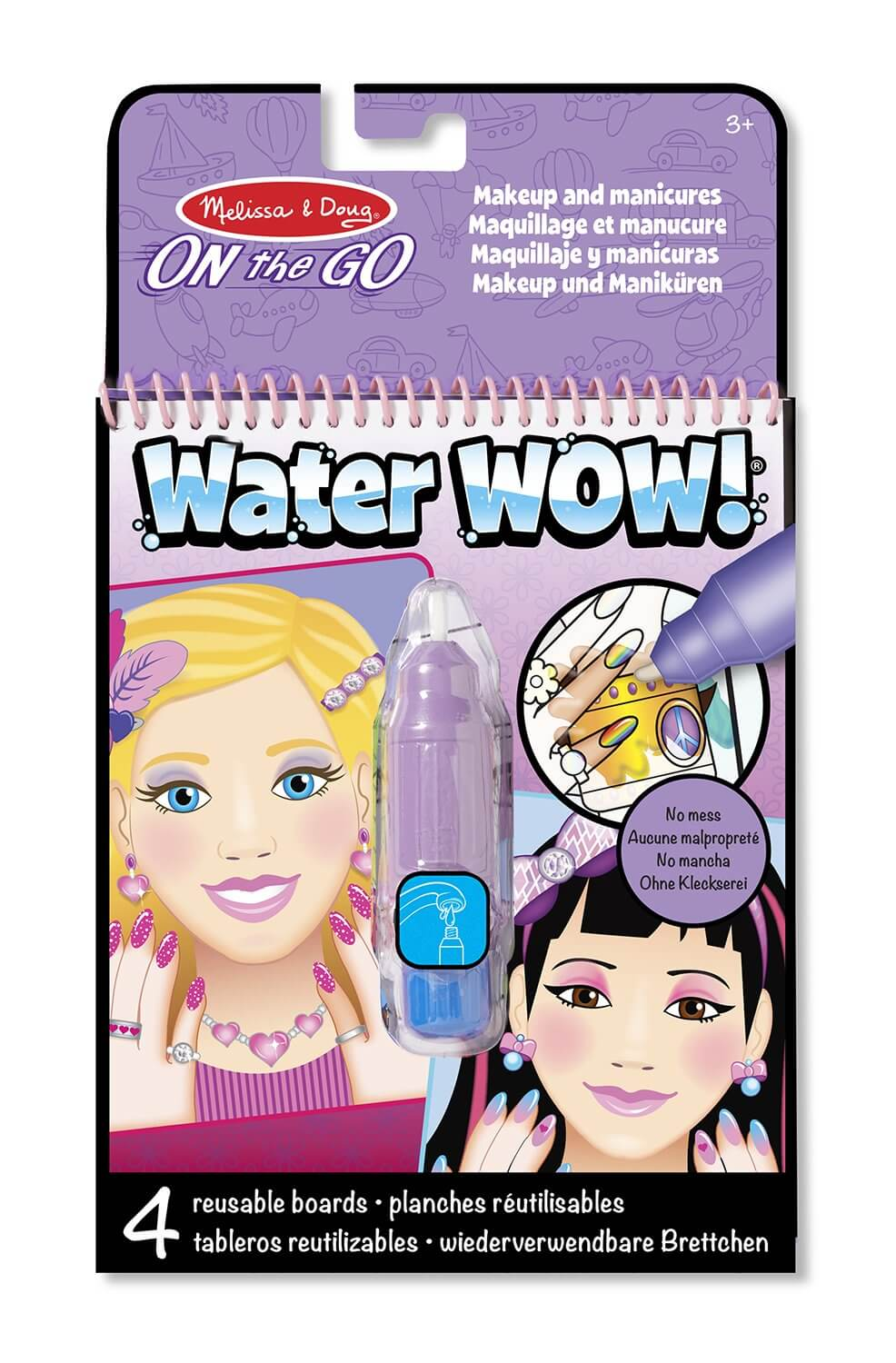 LIBRO WATER WOW - MAKEUP & MANICURES