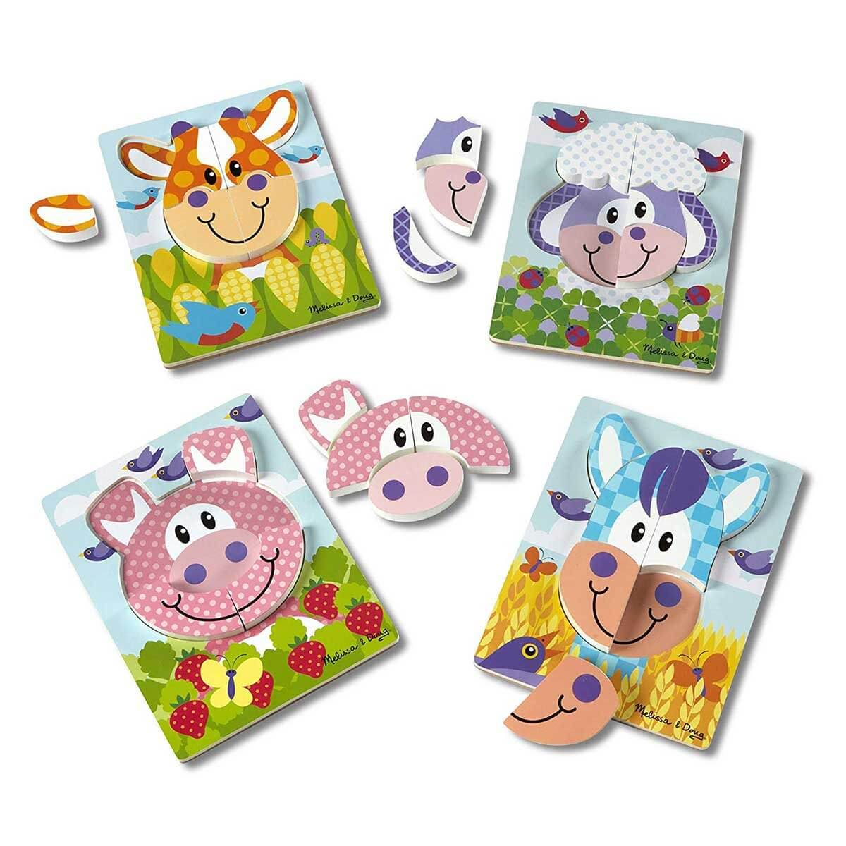 FIRST PLAY JIGSAW SET - FARM