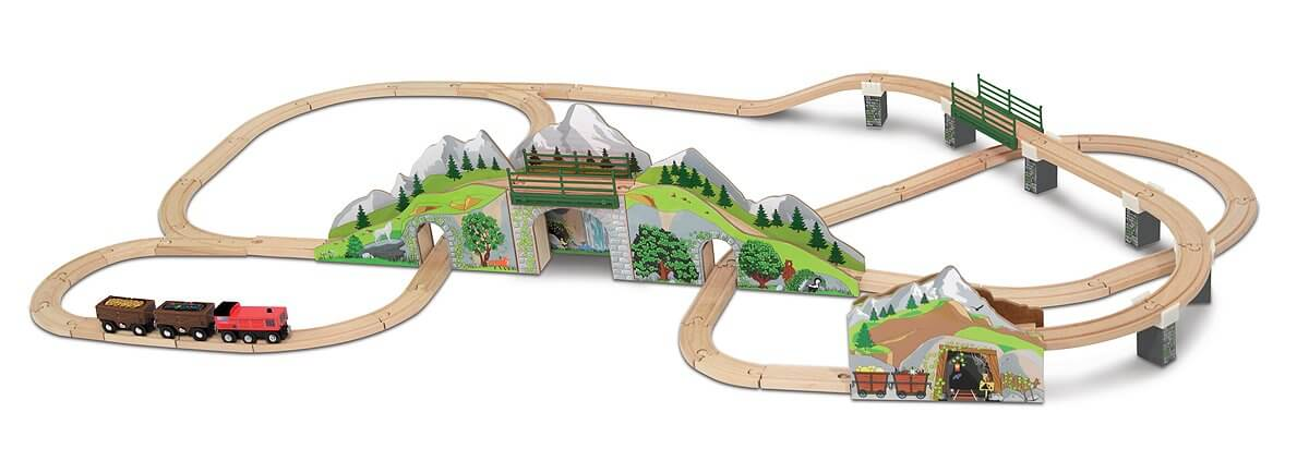 MOUNTAIN TUNNEL TRAIN SET