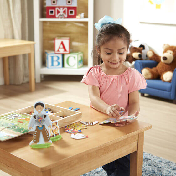 OCCUPATIONS MAGNETIC DRESS-UP PLAY SET