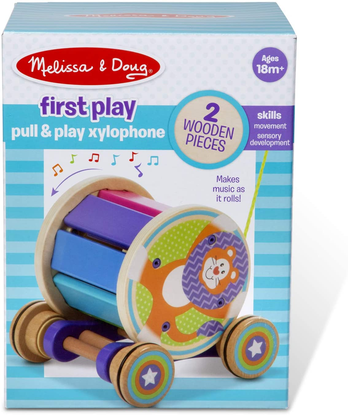 PULL & PLAY XYLOPHONE