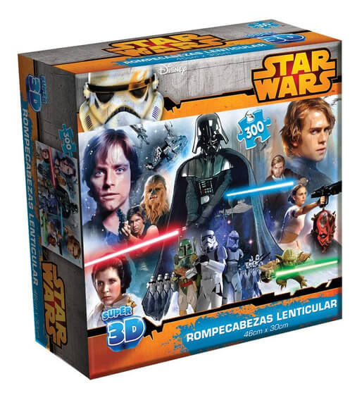 R.C. LENTICULAR SUPER 3D STAR WARS
