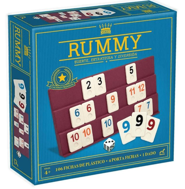 RUMMY JUMBO EN TIN METALICO