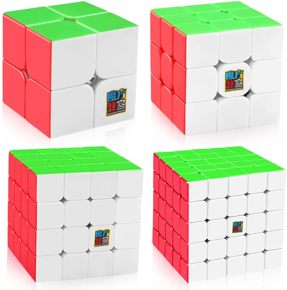 SET CUBO RUBIK 2 + 3 + 4 + 5 - MEILONG