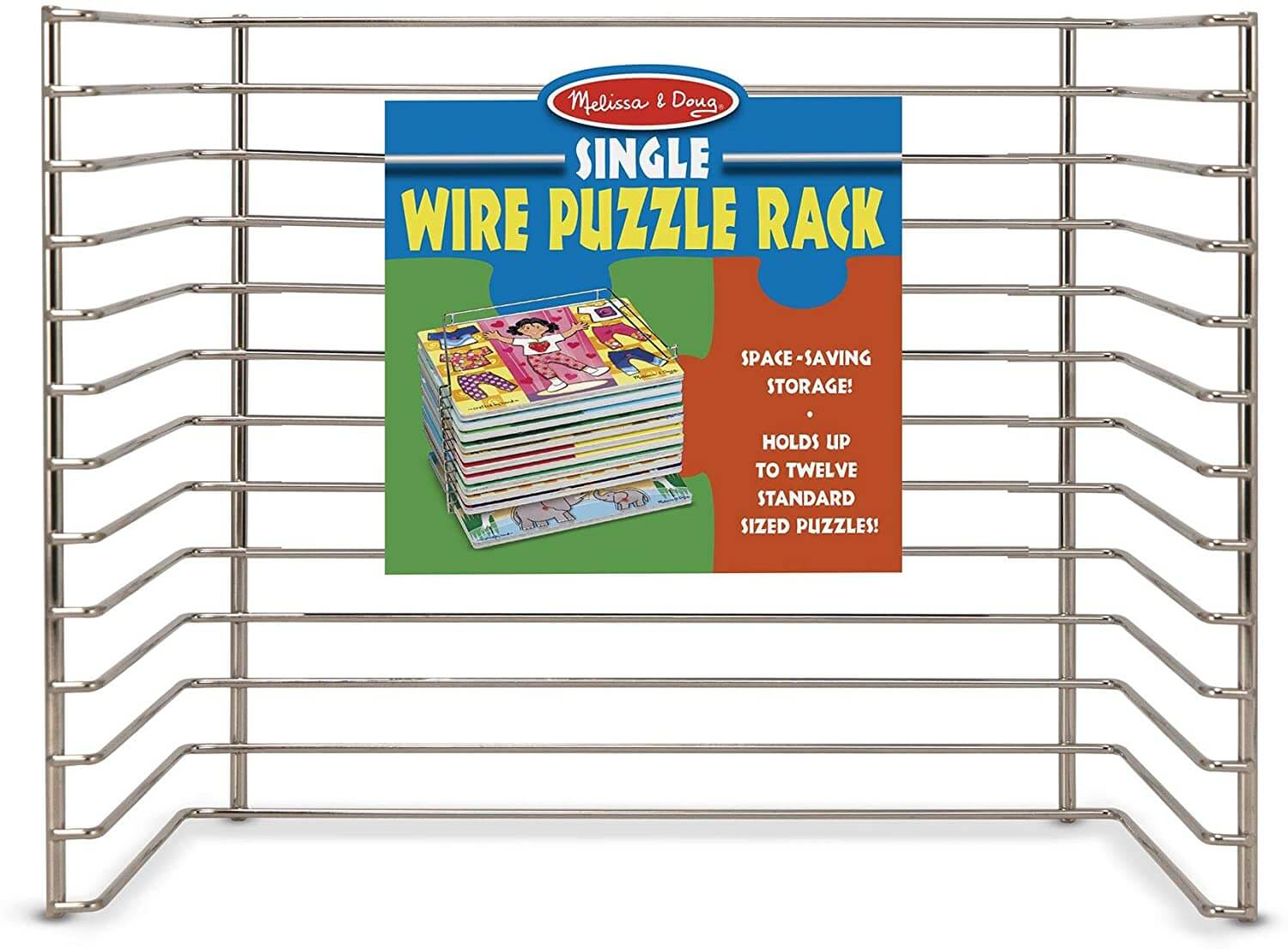SINGLE WIRE PUZZLE RACK