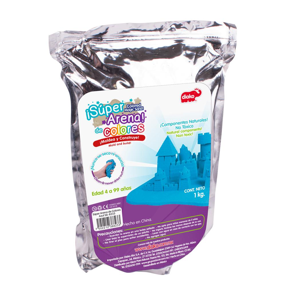 SUPER ARENA COLOR AZUL 1 KG