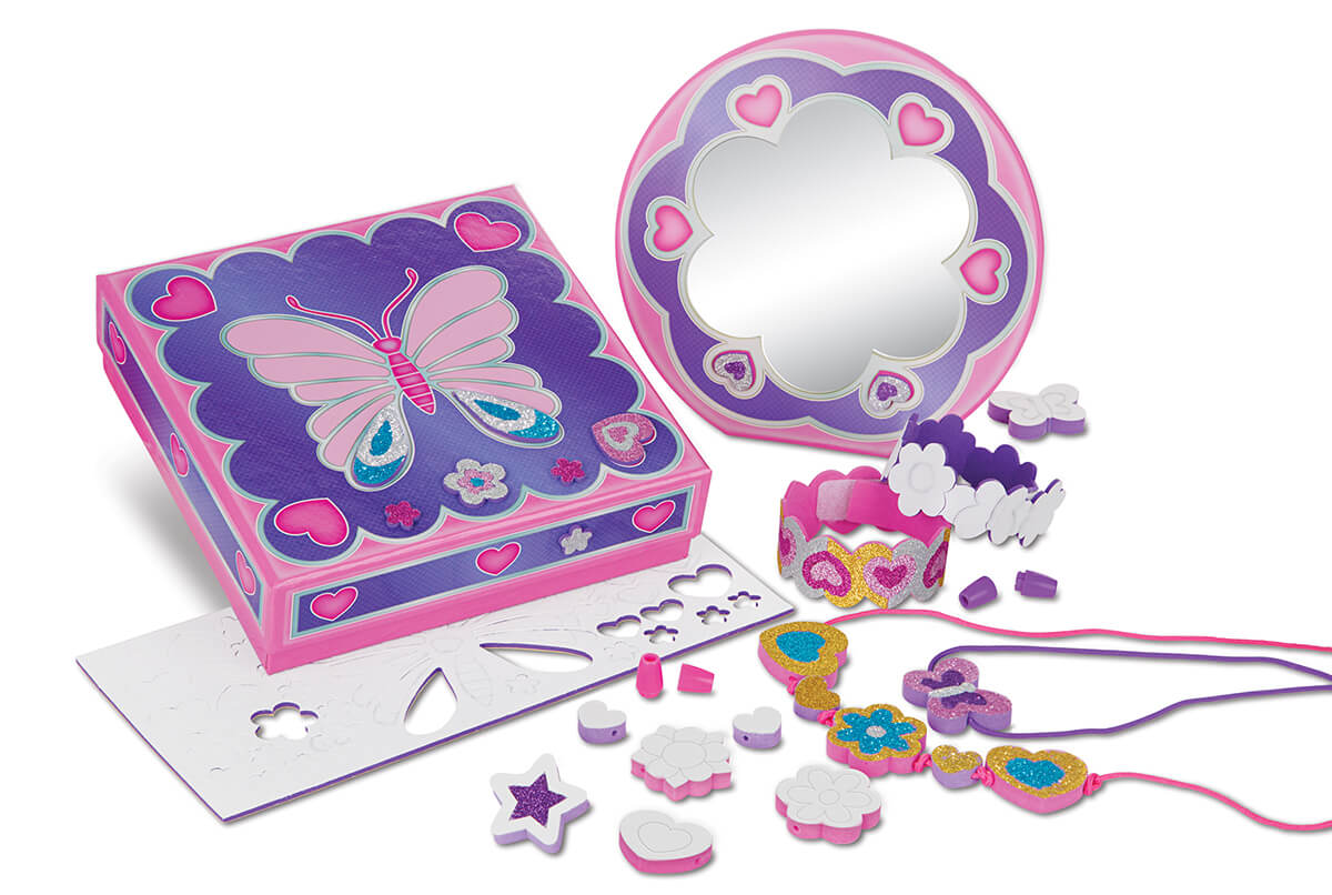 TREASURE BOX / MIRROR SET