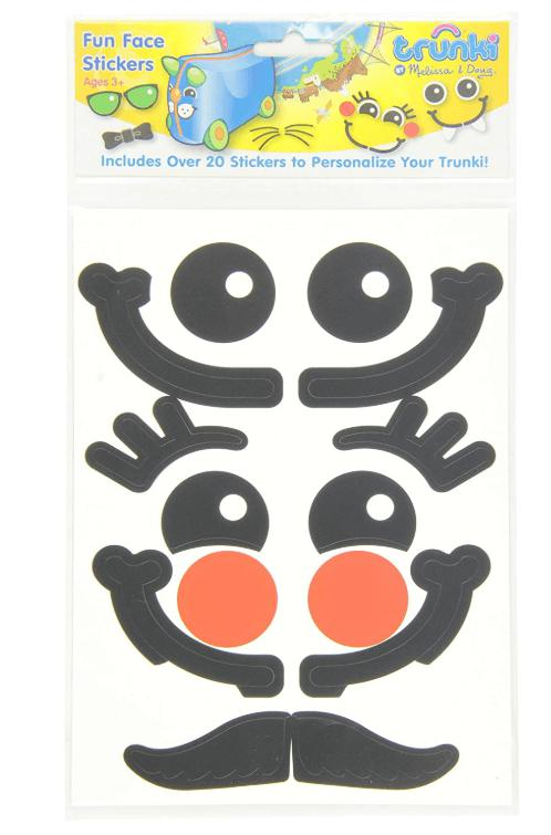 TRUNKI STICKERS - FUN FACE